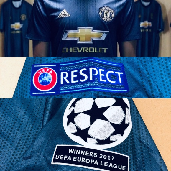 new product 0a92a 94ece ⚽️ Lukaku #9 Soccer Jersey Manchester United UEFA NWT